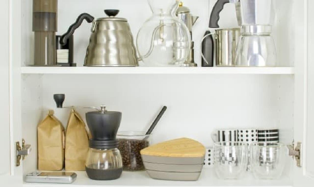 コーヒー豆は、密閉して冷蔵庫に入れた方が良いと思う…。