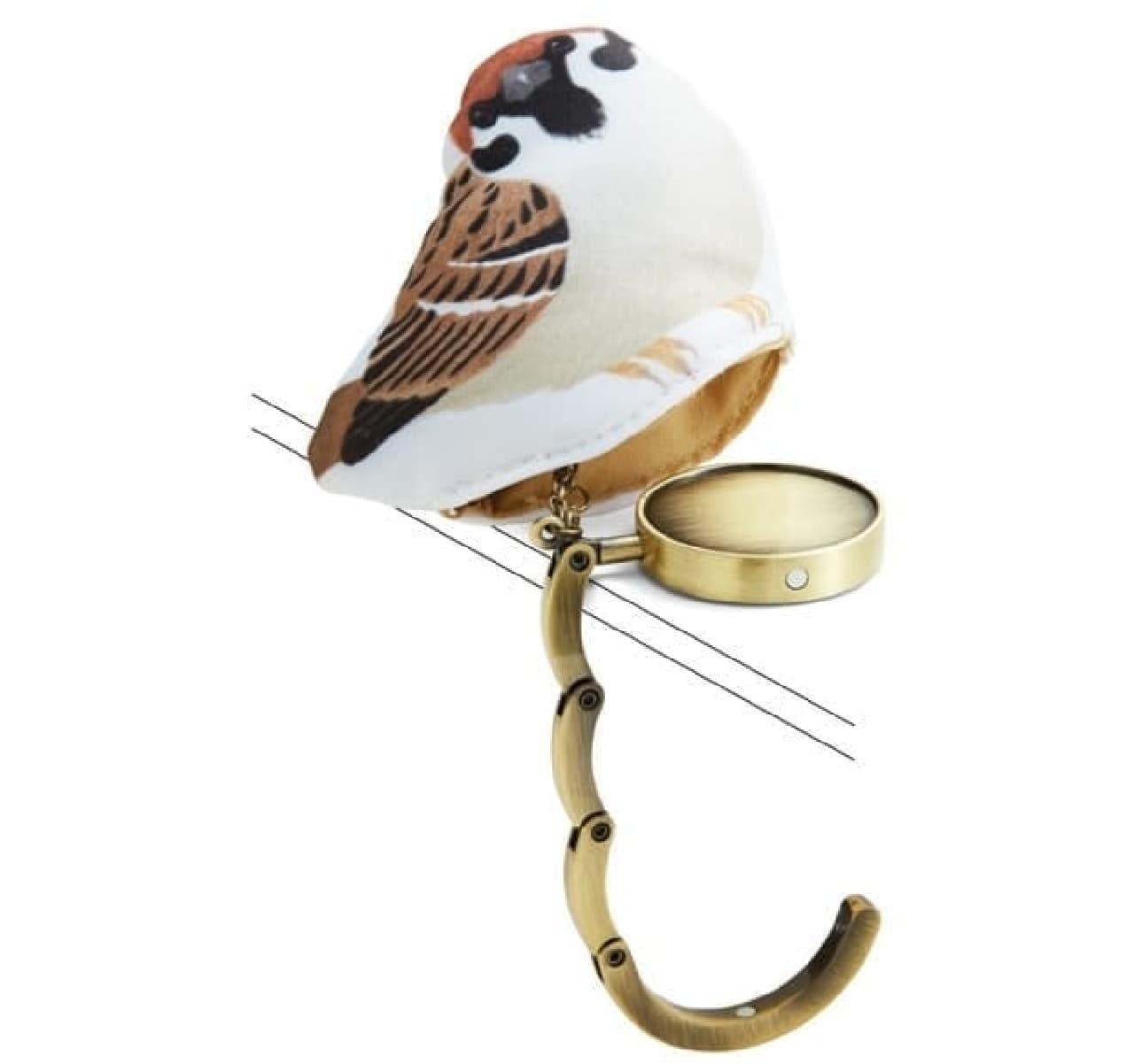 小鳥はハンガーを収納するケース  かわいいだけじゃ、なかった!