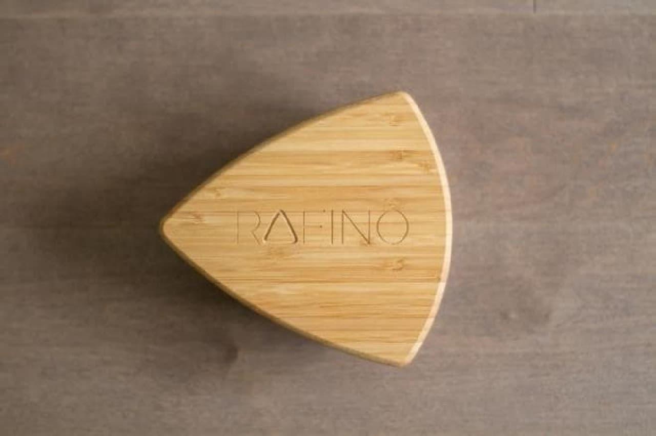 挽いた粉の粗さを均一にしてくれる「Rafino」