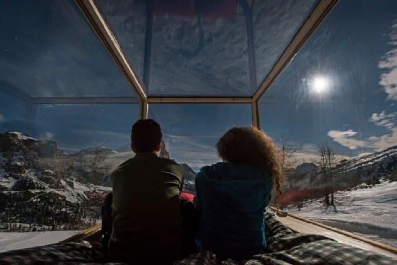 「Starlight Room(星明かりの部屋)」 で朝まで星空を