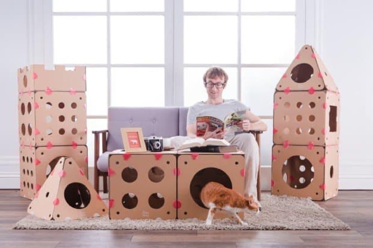 世界に1つ、オリジナルキャットハウスを作ろう