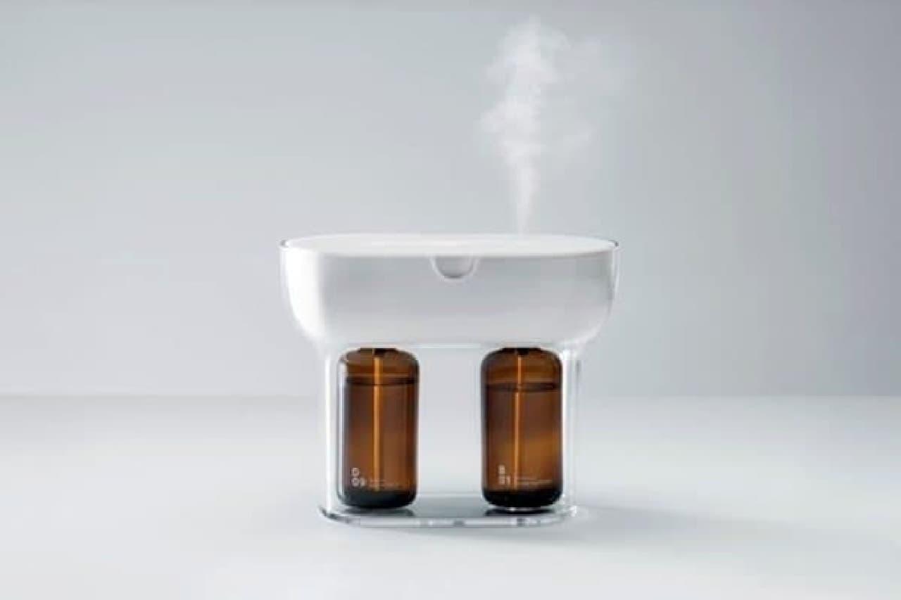 2つの香りと透明なかたち