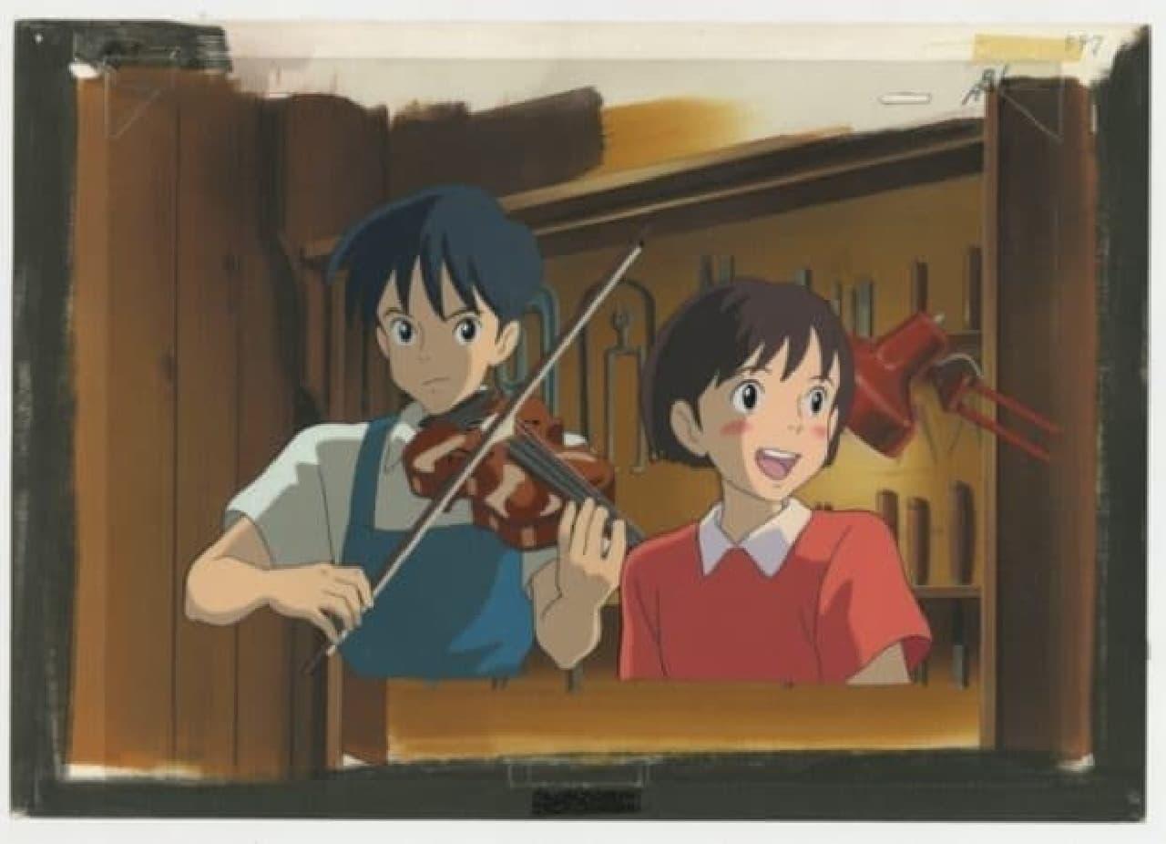 貴重な作品を間近で見るチャンス!  (c)1995 柊あおい/集英社・Studio Ghibli・NH