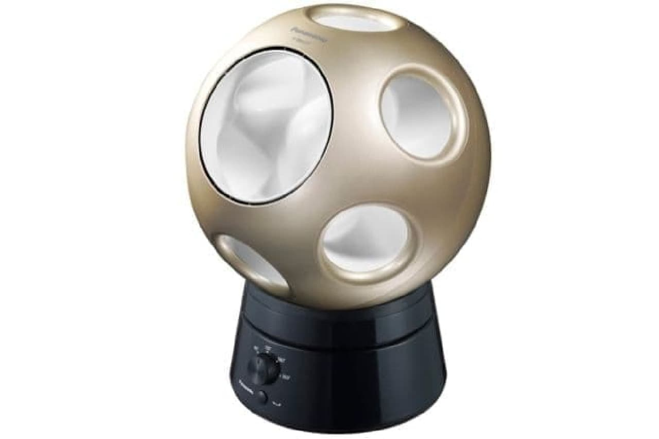 色々な風が出る不思議な球体「Q」