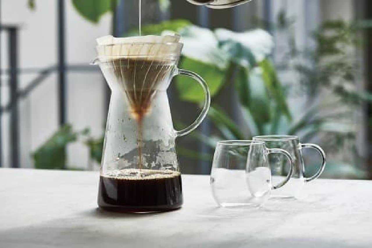 ホットコーヒーにも使用できる