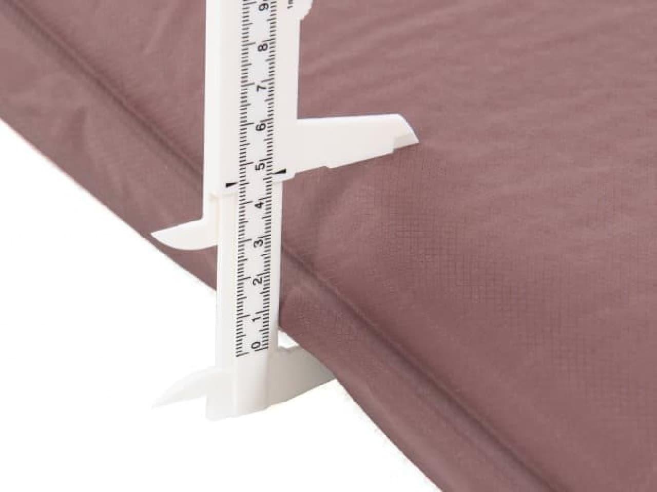 4.5センチ厚のマット
