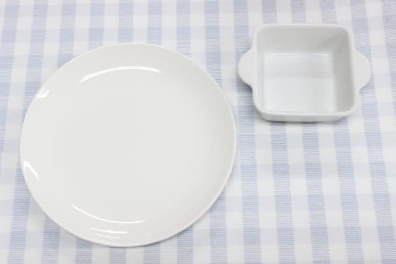シンプルな白をチョイス