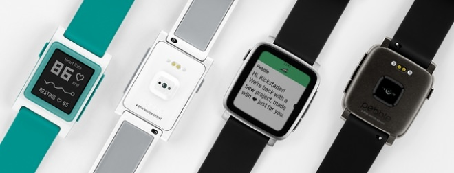 「Pebble 2」と「Pebble Time 2」