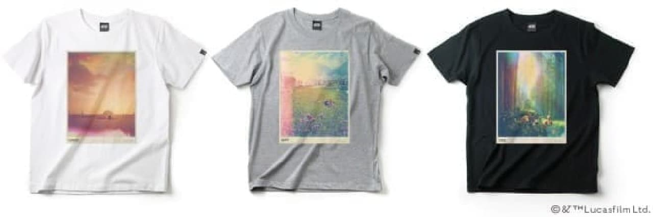 おなじみの惑星がノスタルジックなTシャツに