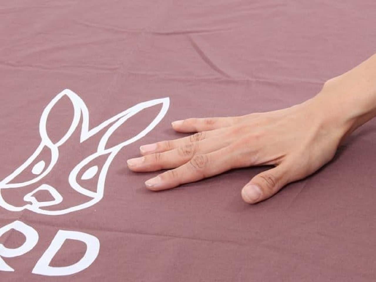 綿100%のシーツで肌触りさらさら