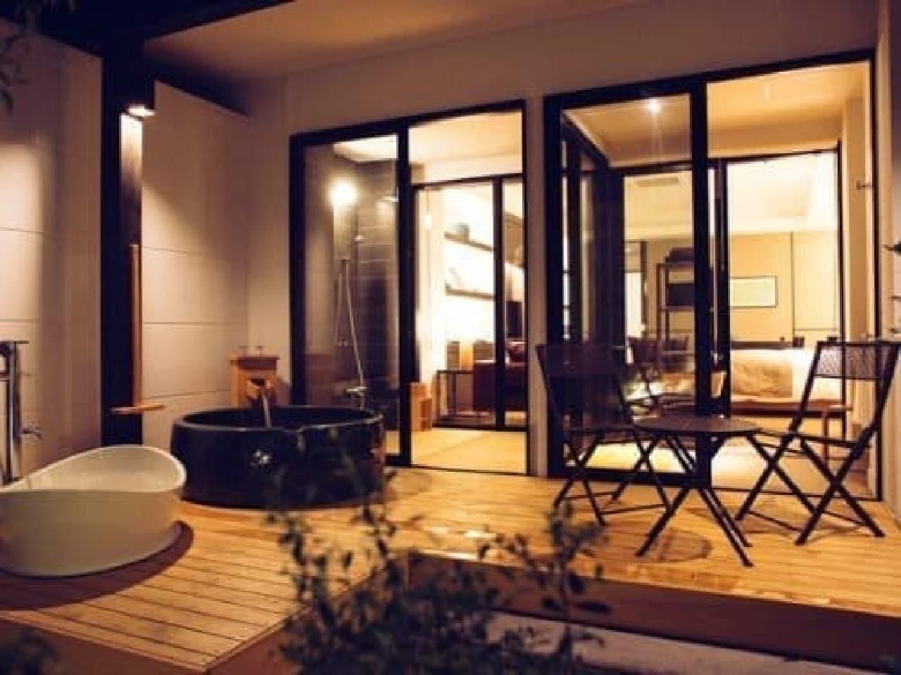 「D+KIRISHIMA(ディープラス霧島)」部屋の例