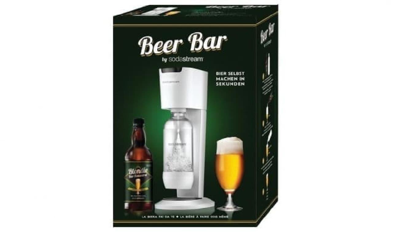 ソーダストリームが発表した「Beer Bar」キット