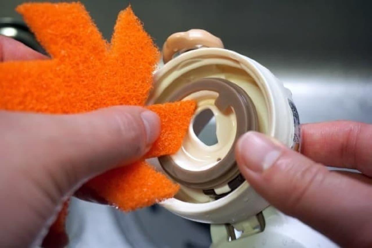 スコッチ・ブライト スミをちゃんと洗えるクリーナー