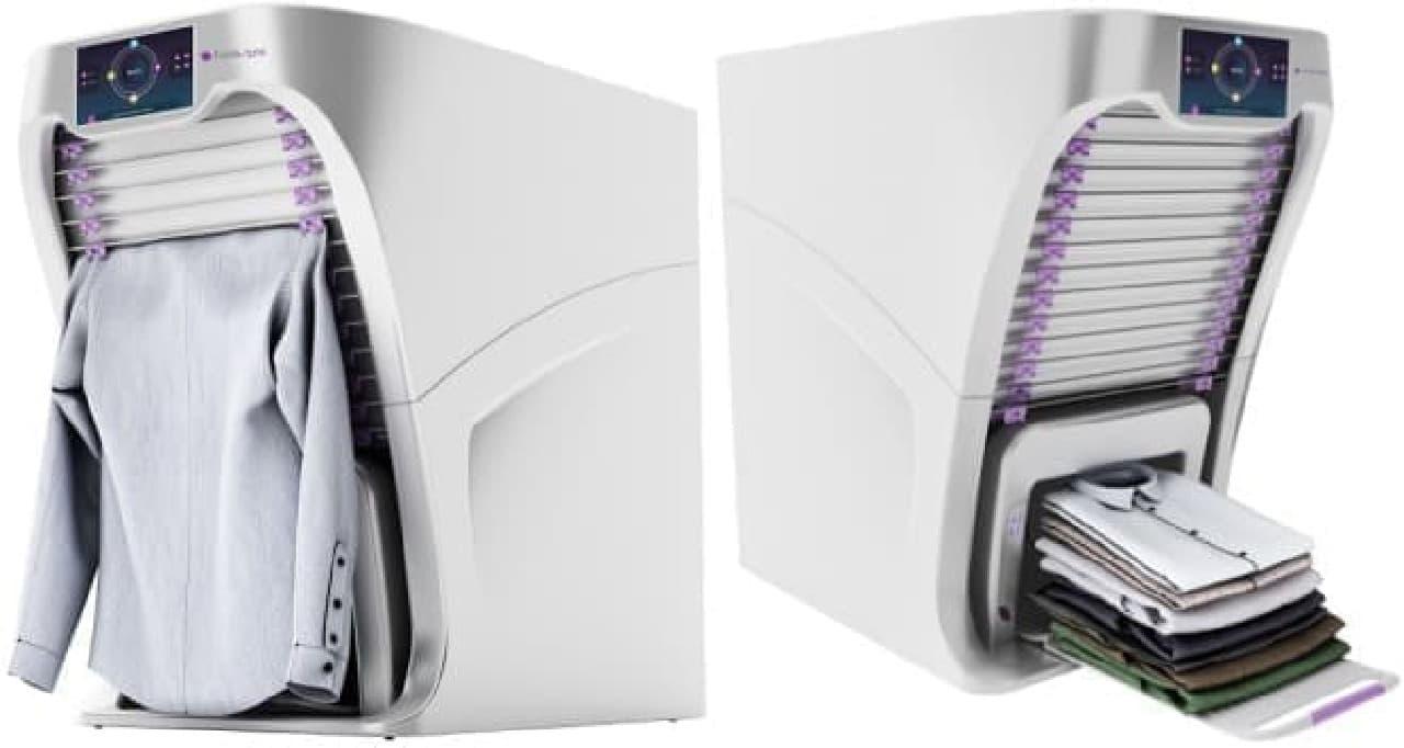 自動洗濯物畳み装置「FoldiMate」
