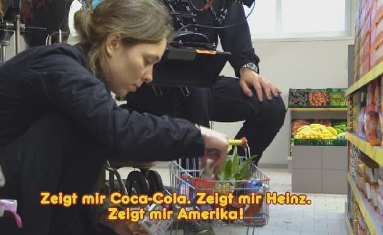 ドイツのスーパーが製作した動画:ミニチュアを使った撮影シーン