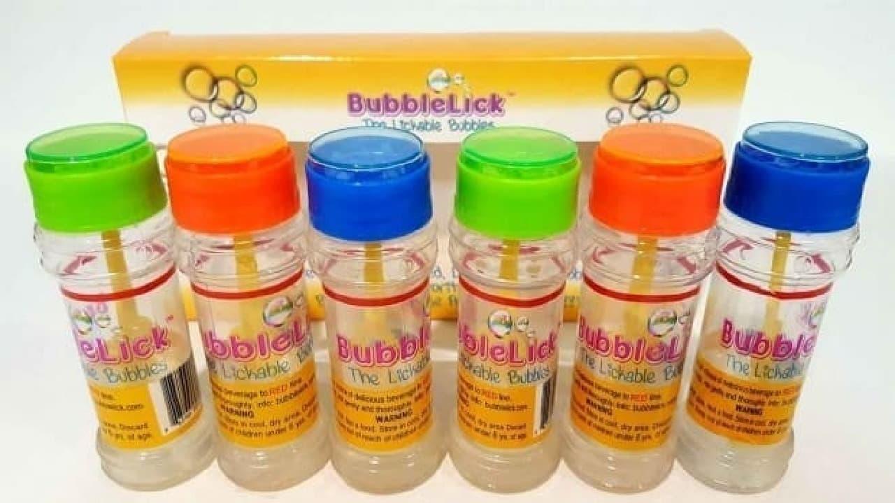 「BubbleLick」パッケージ