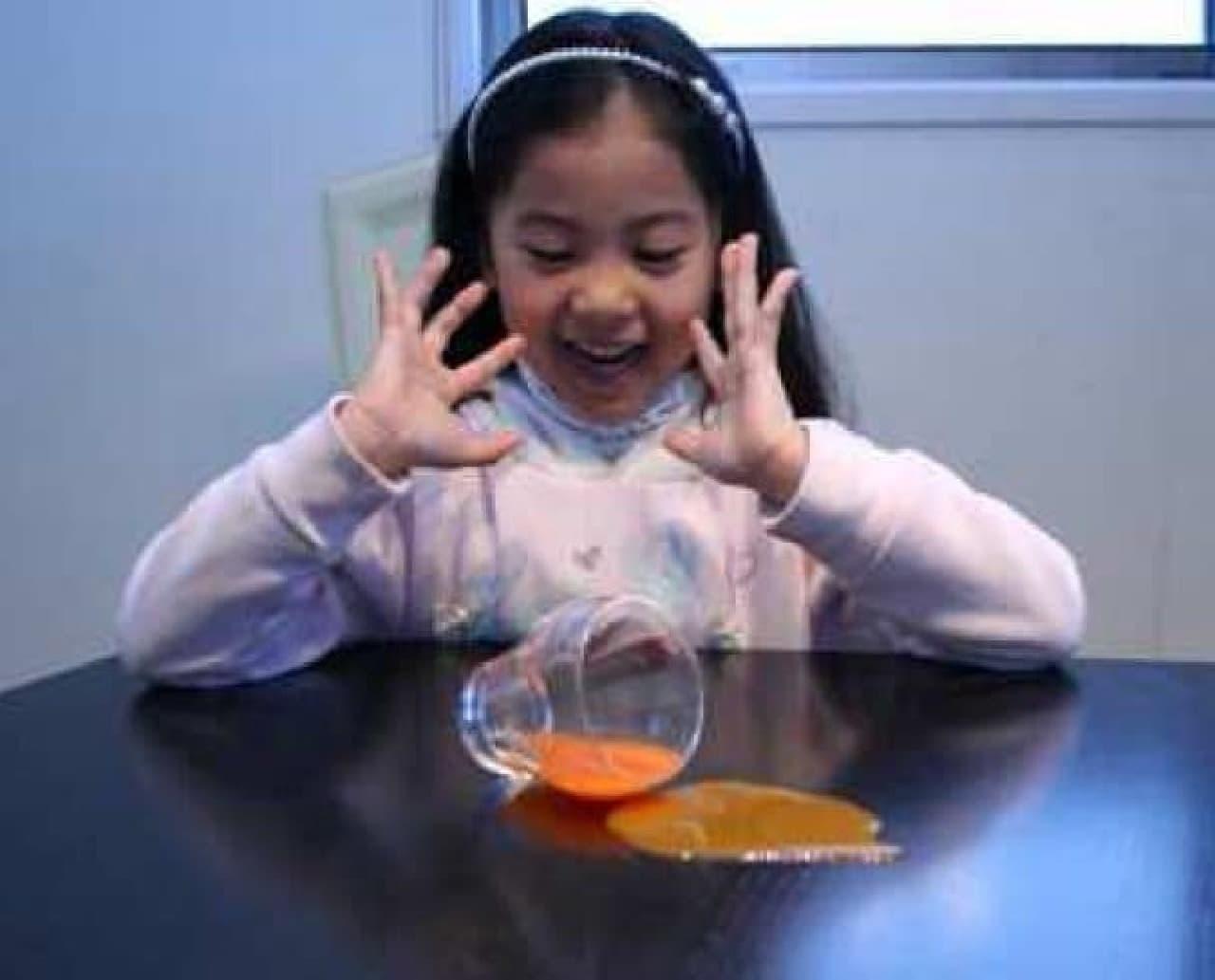 「Quick Lock Glass(クイックロックグラス)」使用例1 小さな子どものいる家庭