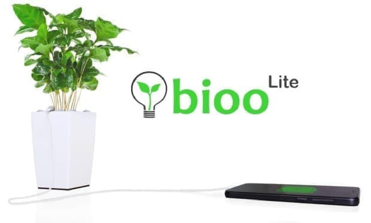充電できる植木鉢「Bioo Lite」