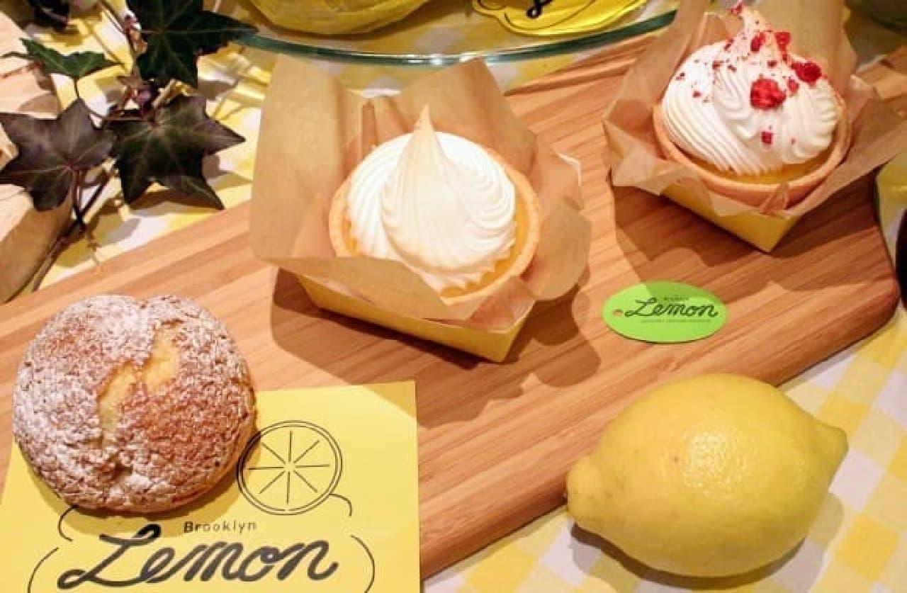 「Brooklyn Lemon」のレモンスイーツ