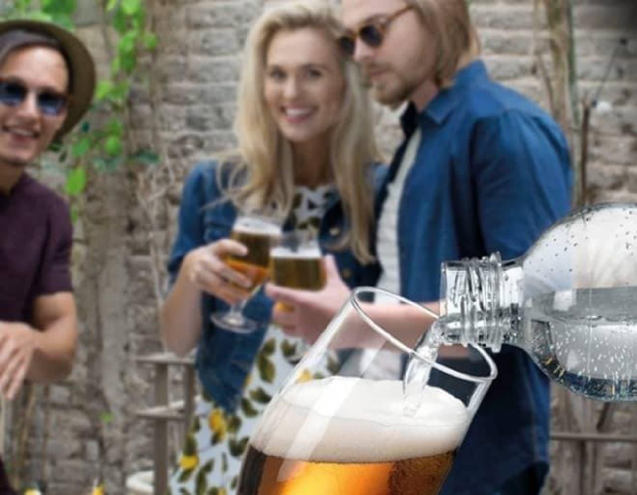 パーティに便利な「Beer Bar」