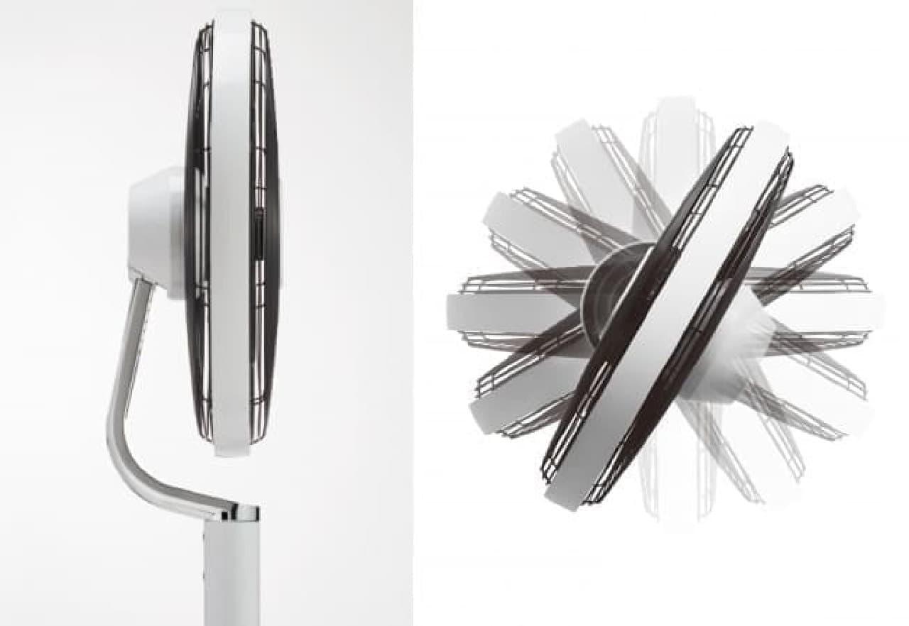 マインツのデザイン扇風機「PIROUETTE(ピルエット)」