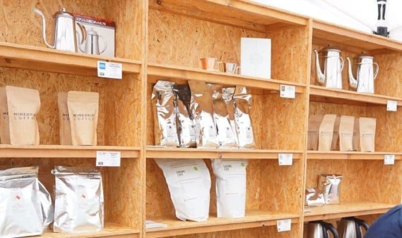 セルフドリップカフェ「MINEDRIP COFFEE」