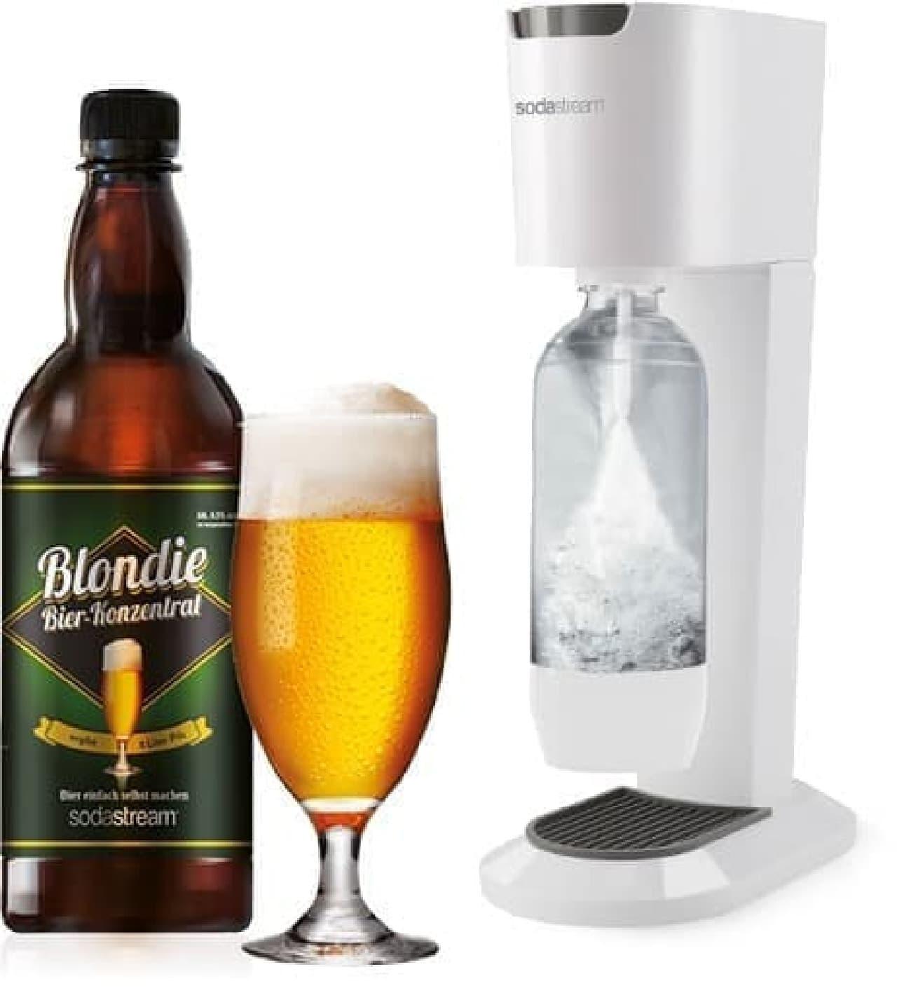 水をビールにするソーダストリームの「Beer Bar」