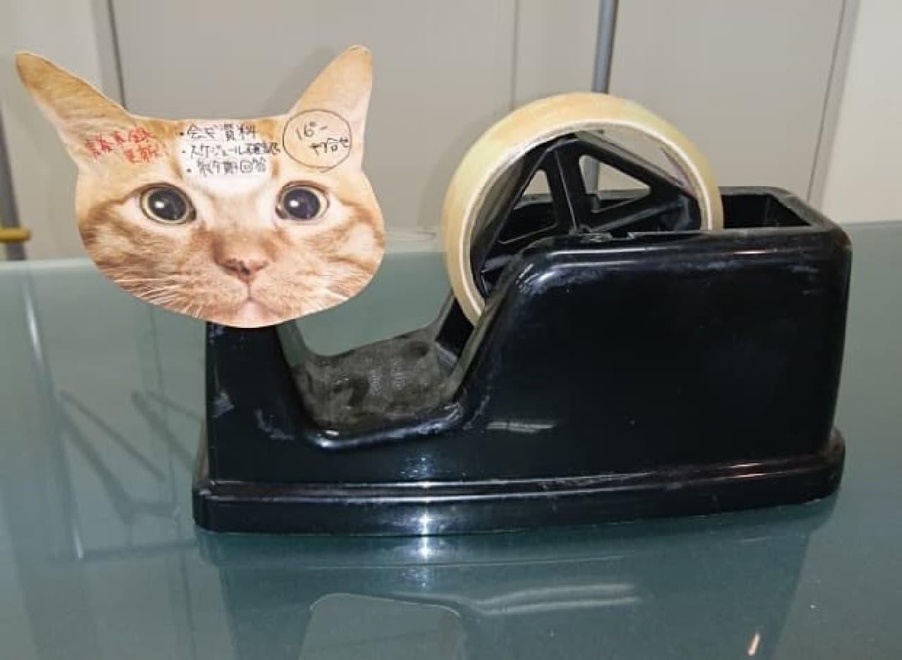 「猫のひたい 付箋メモ」で、伝言を伝えるテクニック3