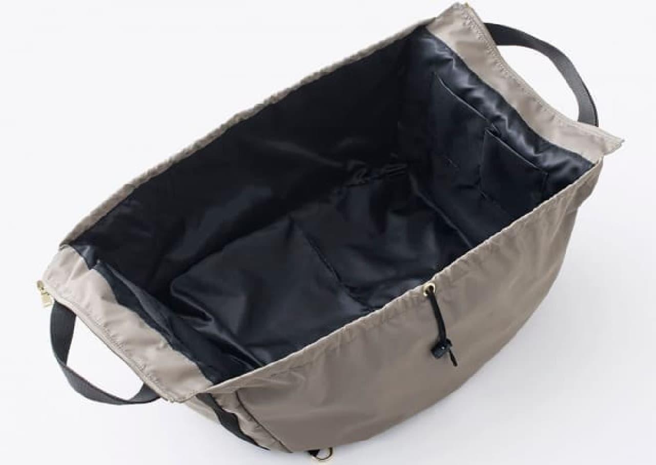「変身レジかごバッグ」使用方法