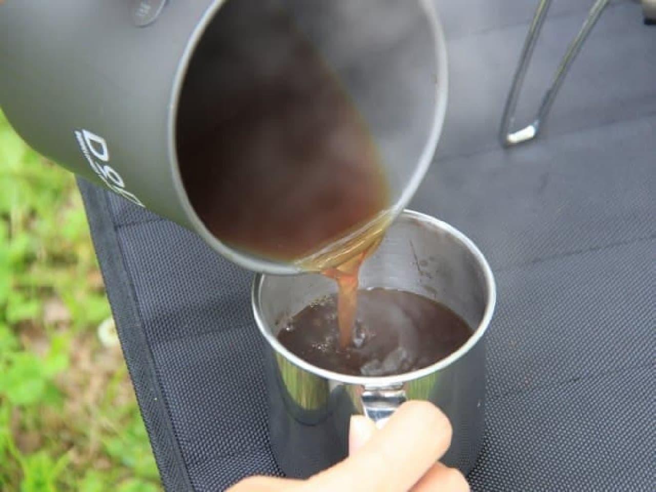 「ラーメン、コーヒー、そして俺」調理例