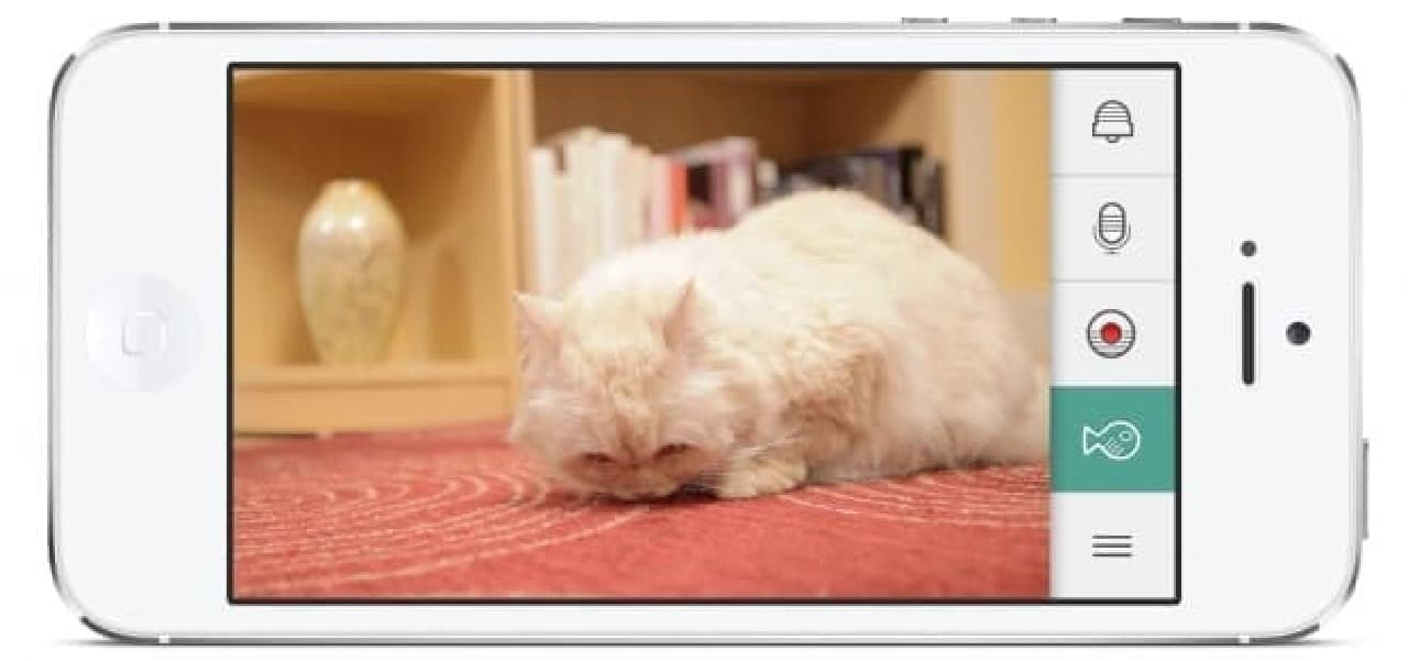 「KITTYO」、アプリ画面