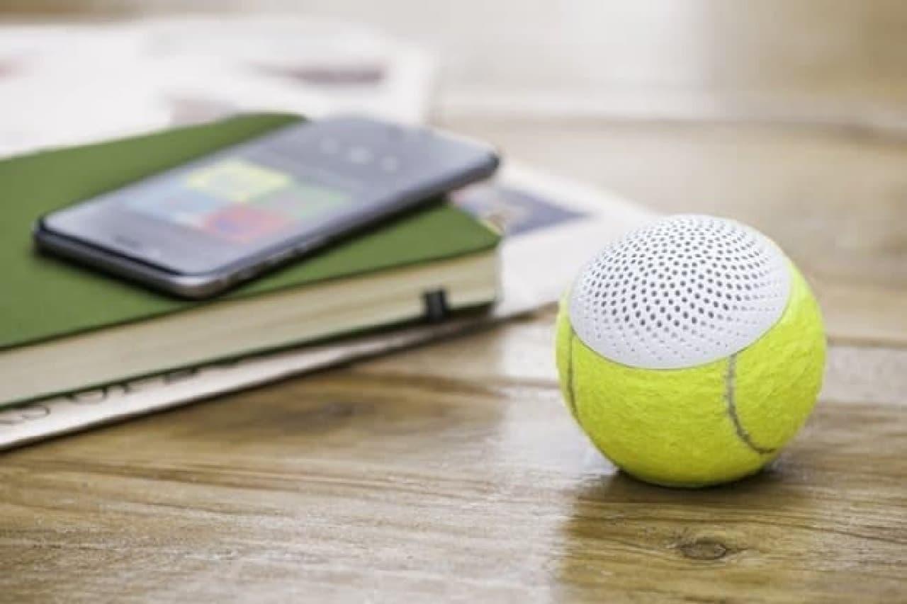 ウィンブルドン選手権で使用されたテニスボールを再利用した「hearO」