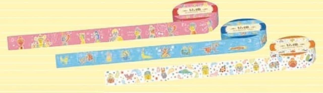 『京都文具大全』で紹介される仏像マスキングテープ