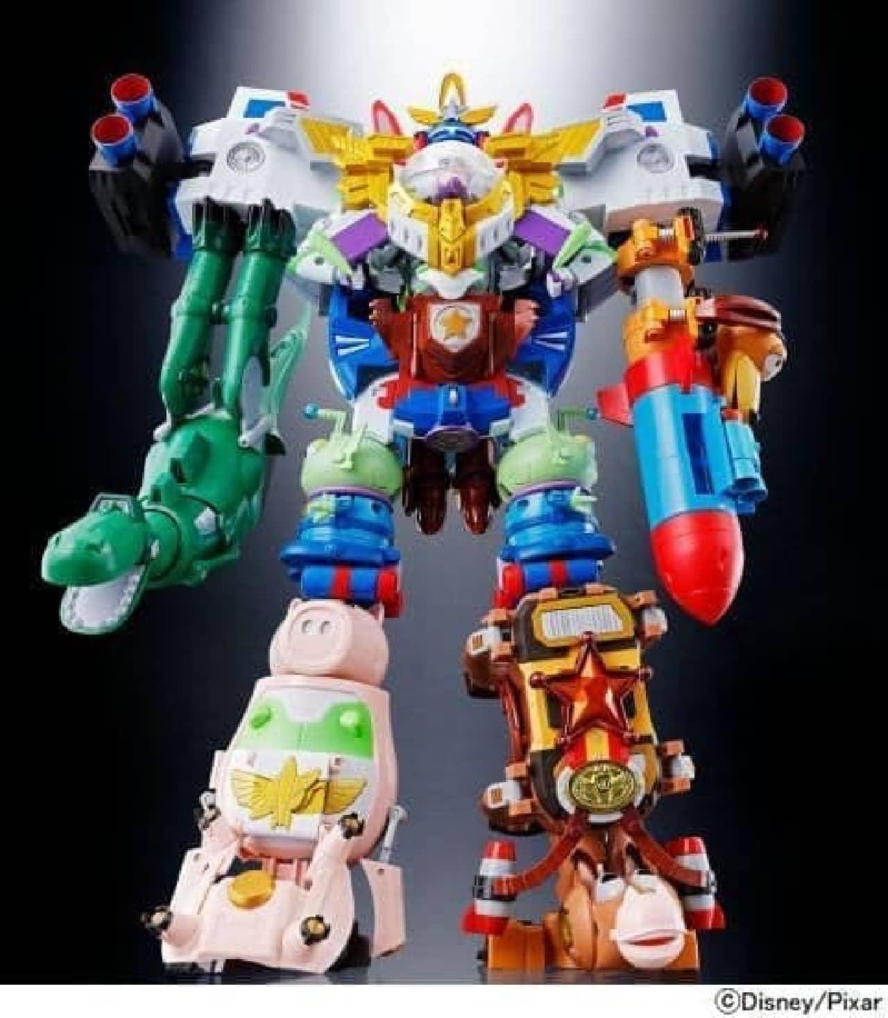 合体ロボット「超合金 トイ・ストーリー 超合体 バズ・ザ・スペースレンジャー ロボ」