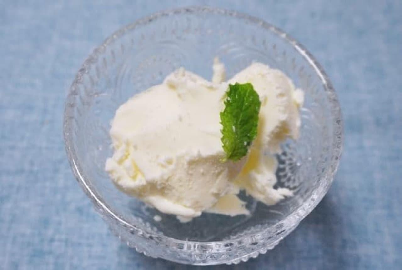 カルピスで作る自家製アイスクリーム