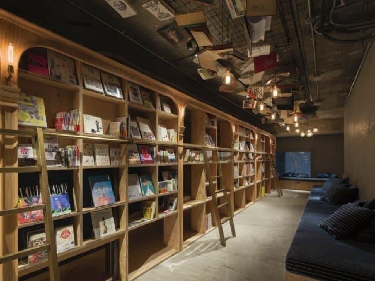 本屋みたいなホステル「BOOK AND BED TOKYO」、今秋京都にオープン