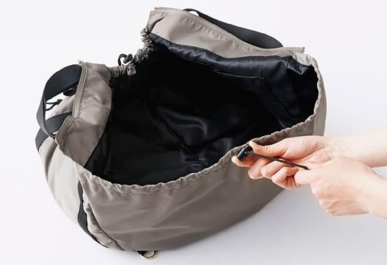 「変身レジかごバッグ」使い方