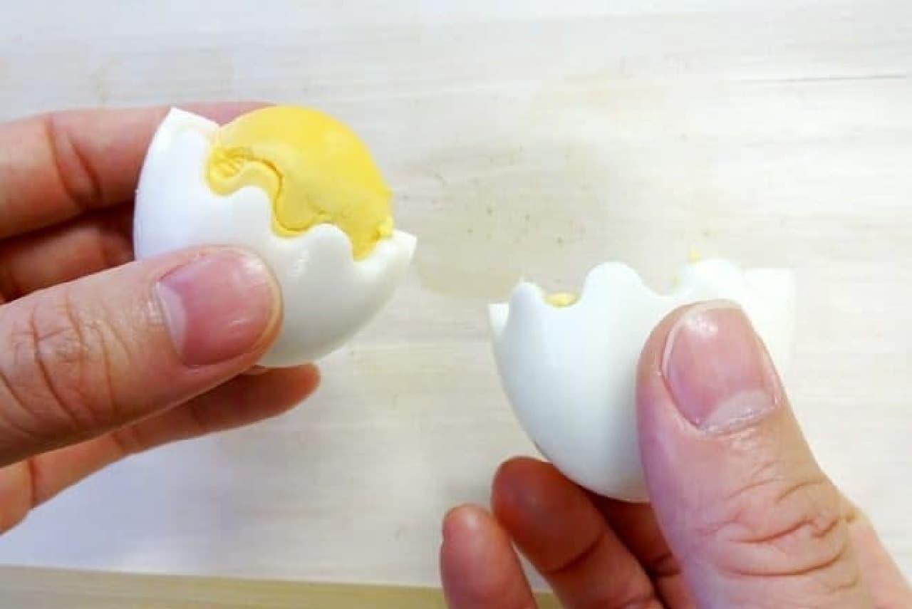 ゆでたまごカッター「花卵(からん)コロン」
