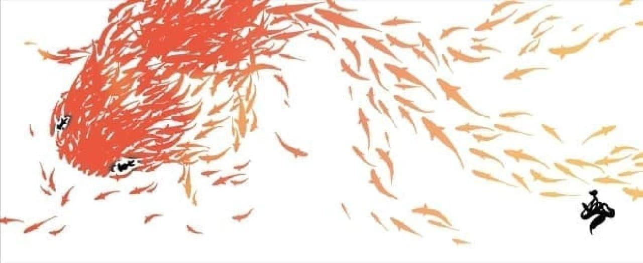 金魚絵師・深堀隆介さん作品展「キンギョ イン ザ スカイ」