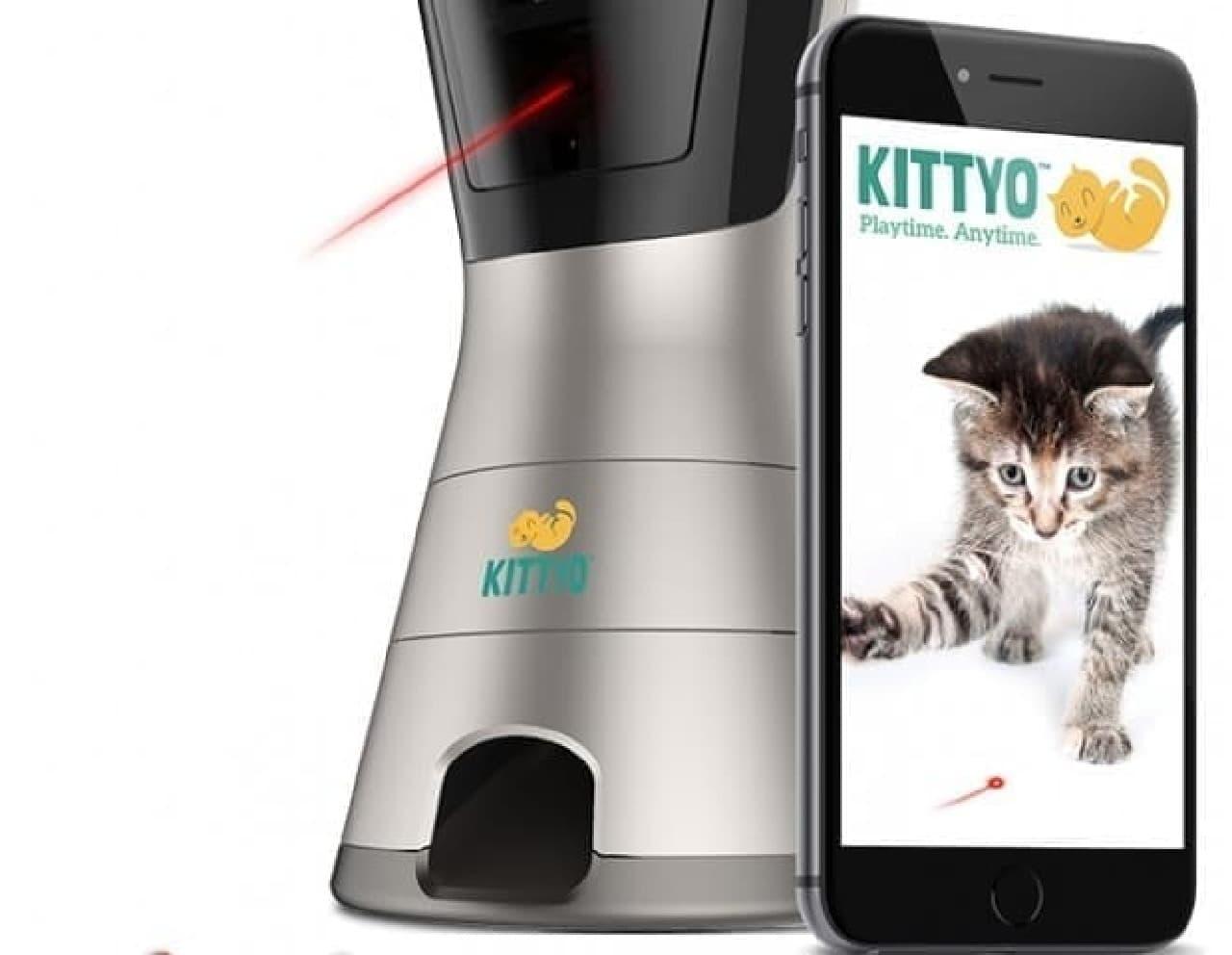 「KITTYO」レーザー機能