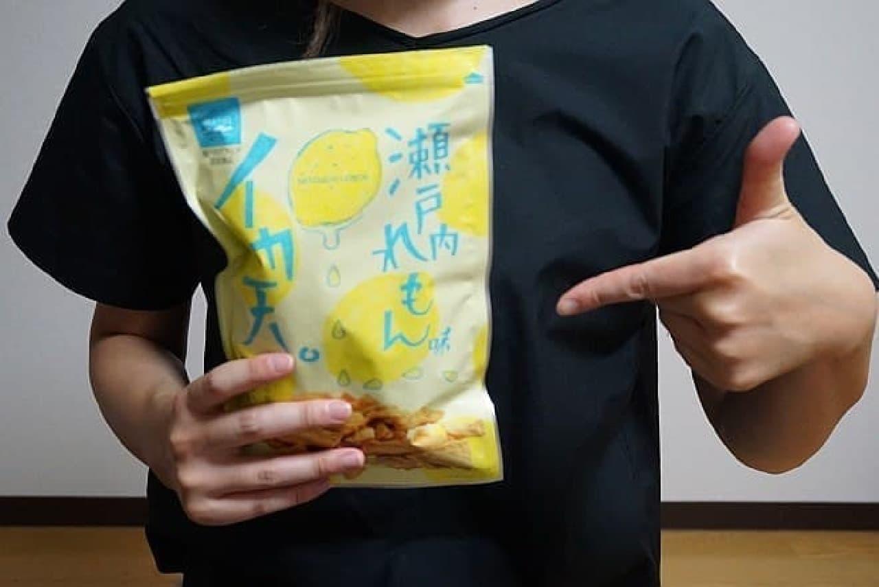 まるか食品「イカ天瀬戸内レモン味」