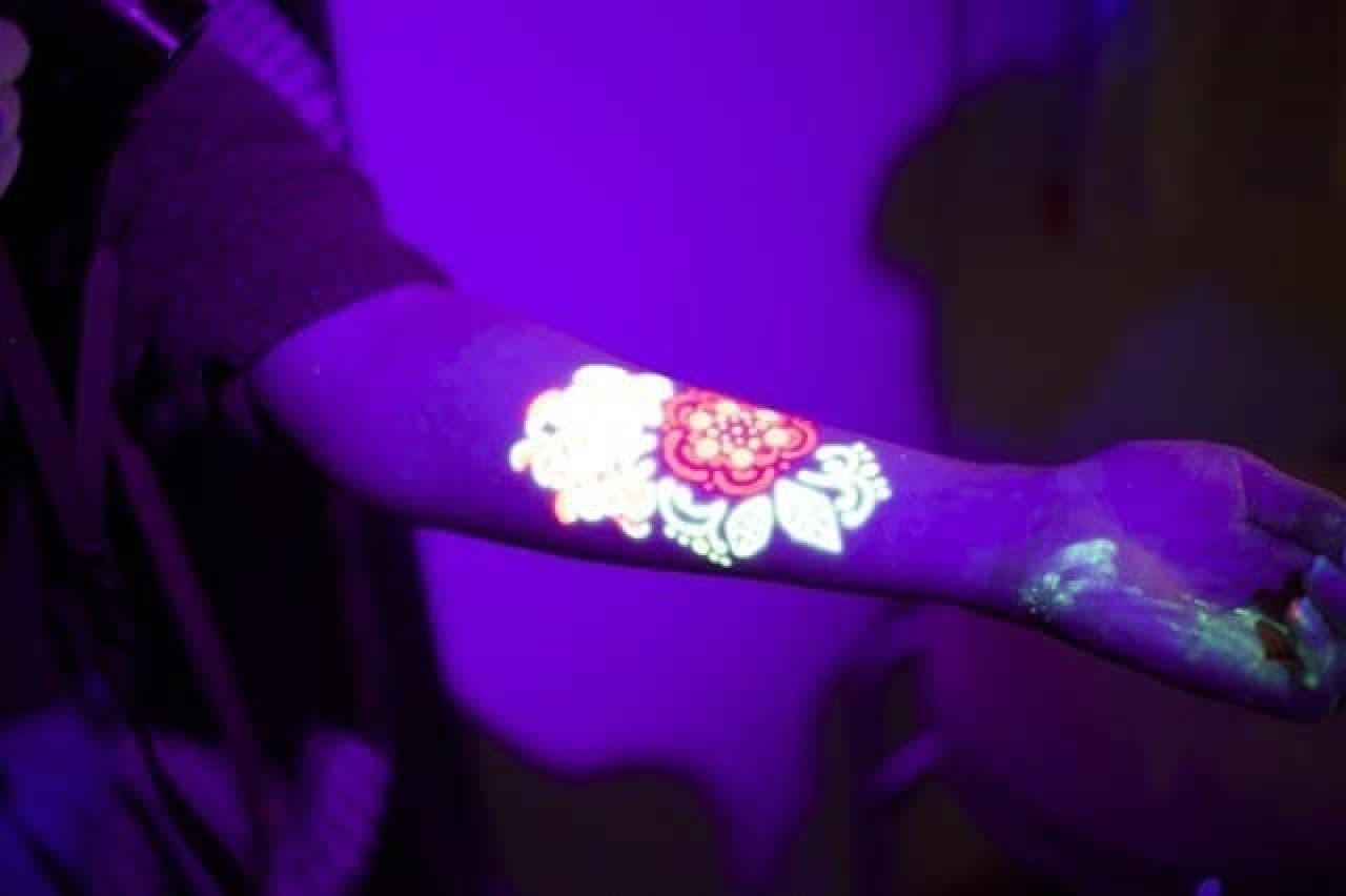 ミラクルペイント新色UV-NEON