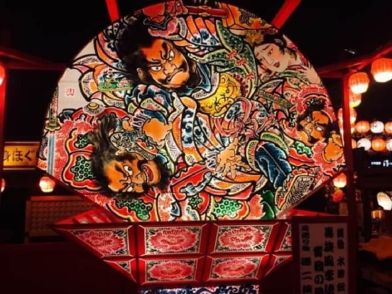 「青森ねぶた祭り」の山車