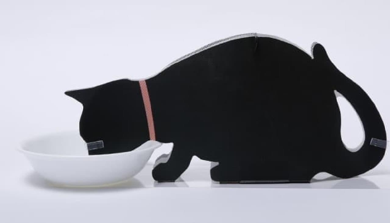 「ペーパー加湿器」クロネコデザイン
