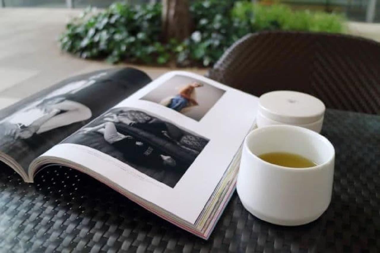 蔦屋書店「本を読むときのお茶」