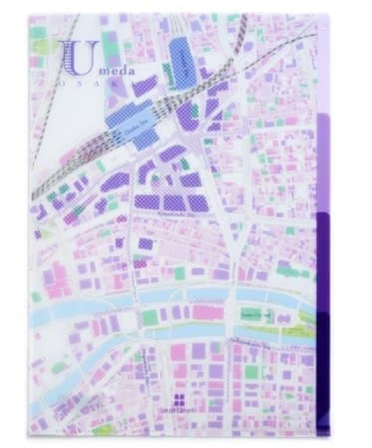 ゼンリンの地図ステーショナリー「mati mati」