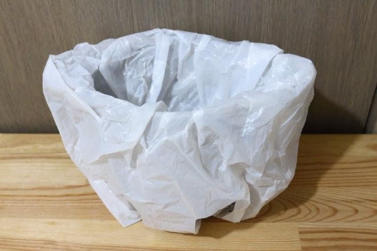 東京防災「食器の作り方」