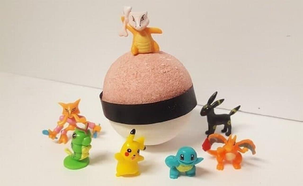 モンスターボール型のバスボム「Pokemon Bath Bombs」