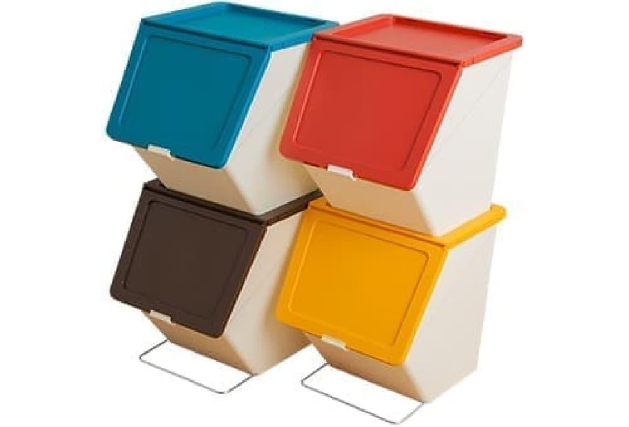 スタッキングゴミ箱「ペリカンガービー」