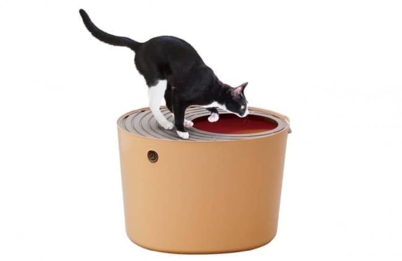 アイリスオーヤマ「上から猫トイレ」